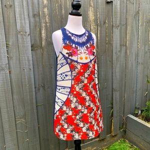 Minkpink floral printed sleeveless mini dress S